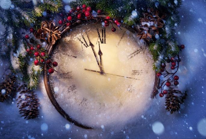Новый год и Рождество на английском